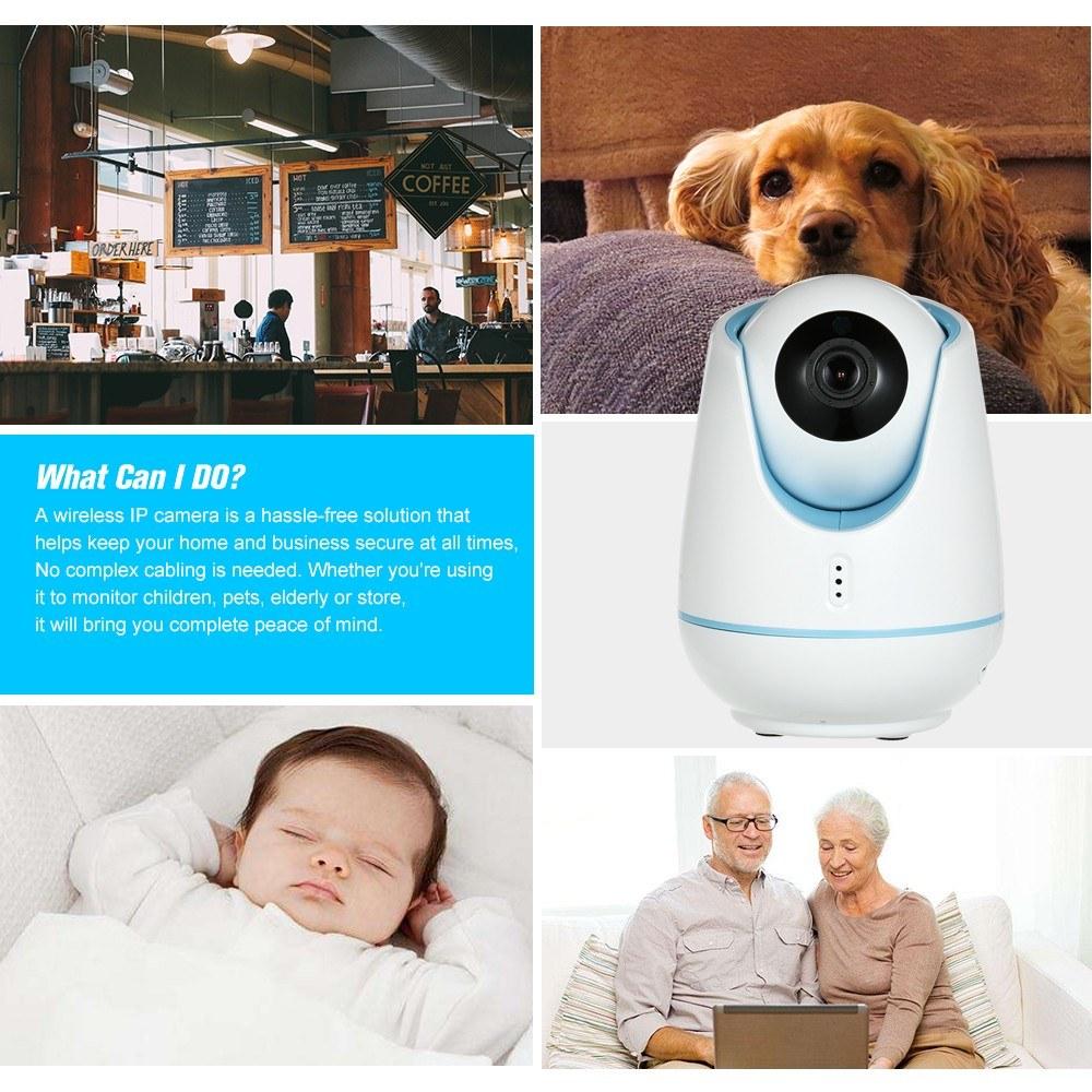 Save 52% on 1080P WIFI Wireless Smart IP Camera