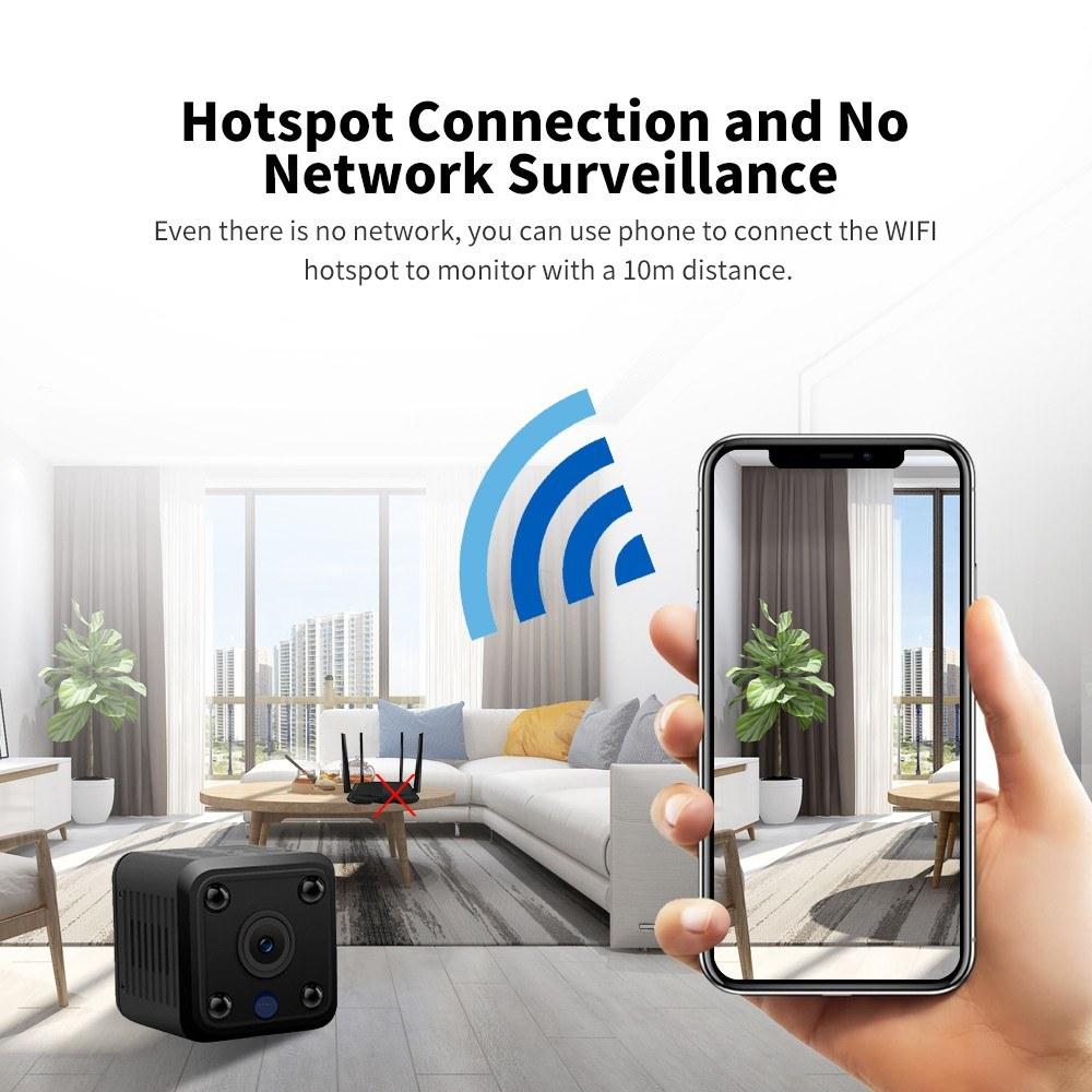 IP Camera Mini Hidden Camera Sales Online eu plug - Tomtop