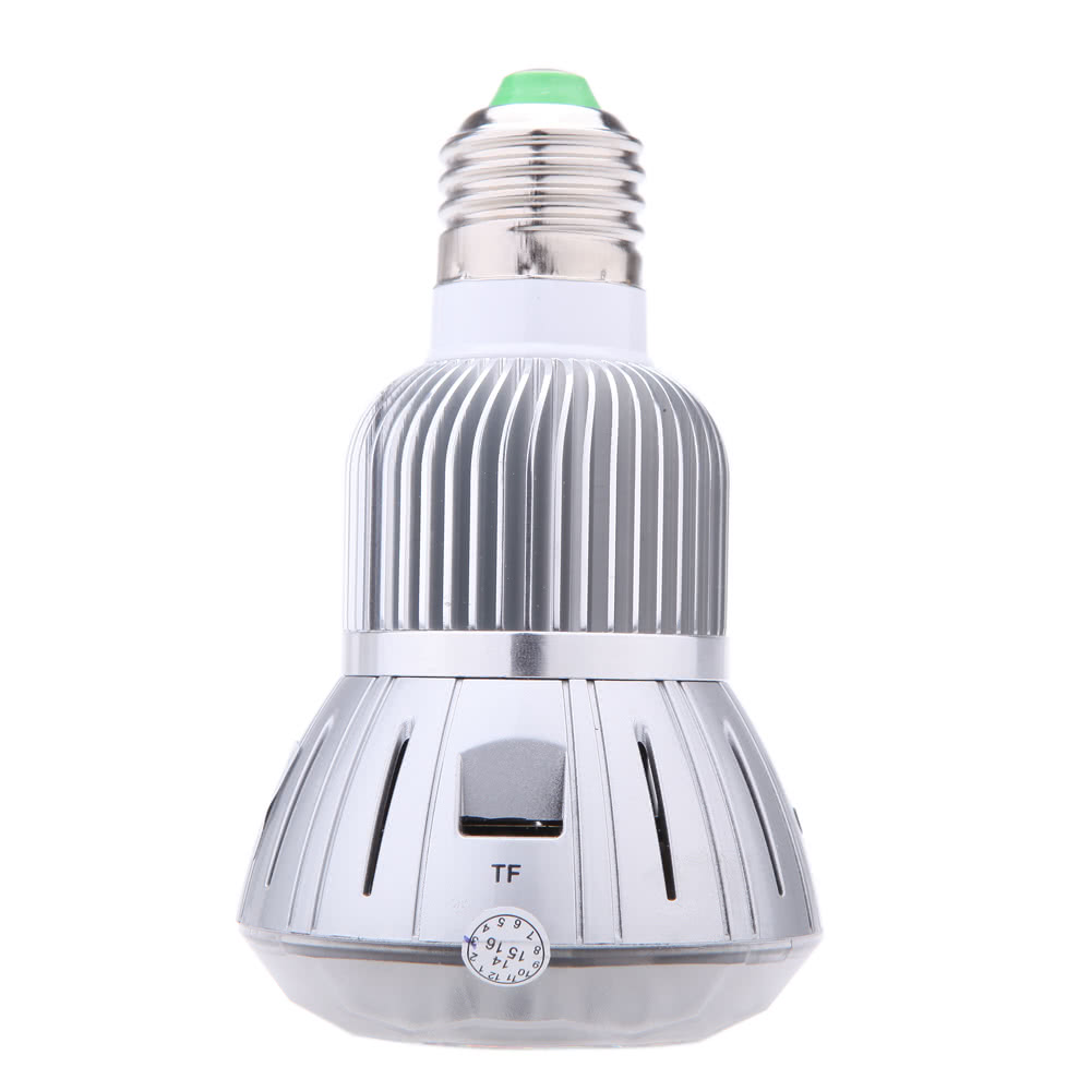 Tomtop - [US Clearance Sale] 75% OFF HD 1080P Wifi LED Bulb Hidden Camera, $25.99 (Inclusive of VAT)