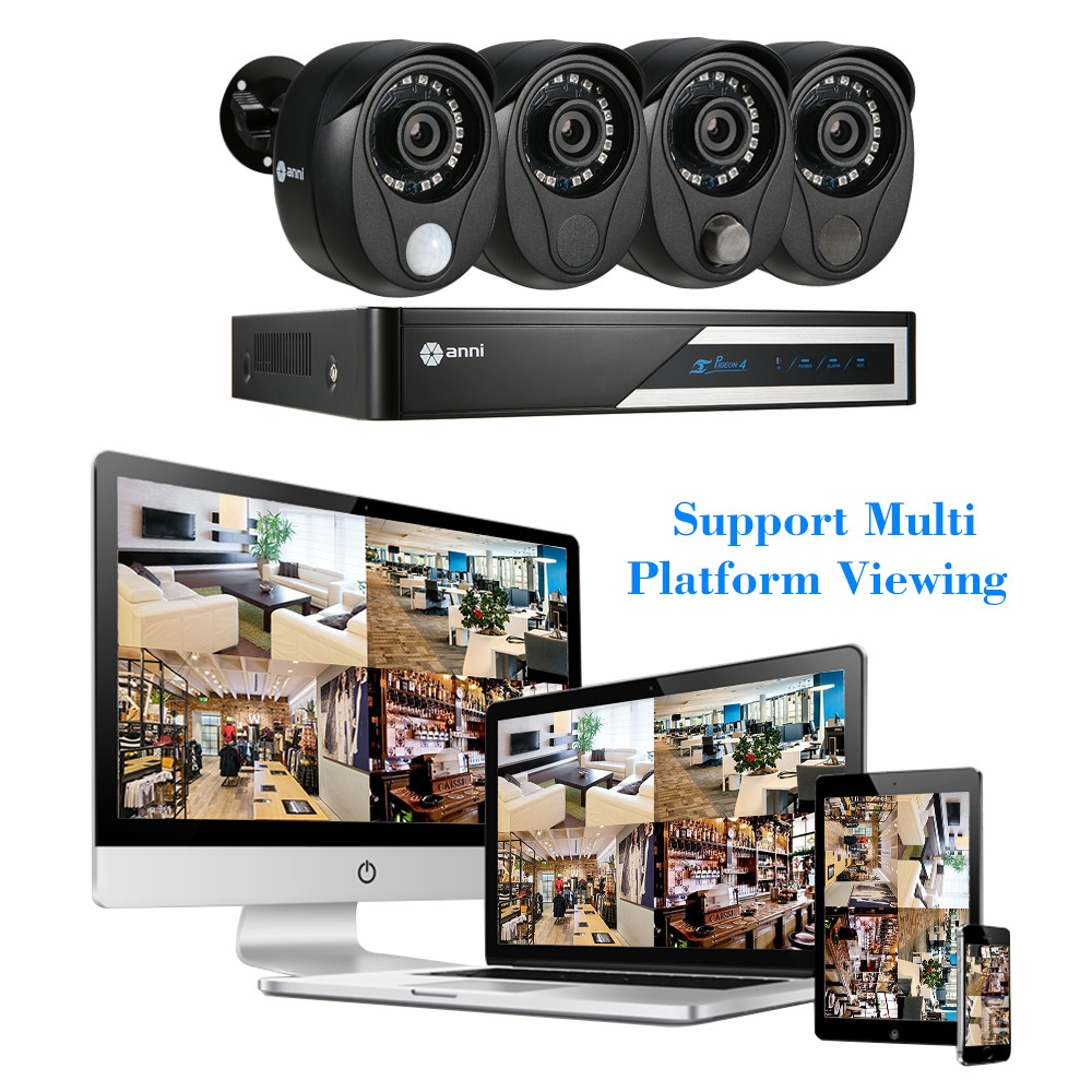 Best Anni 4ch 1080n Digital Video Recorder 1pcs Ahd 1080p Camera View Mobile Dvr With Shock Sensor And Wifi Ptz Controller Adapter 2 Eu Power 1 Four Split Cable Mounting Bracket 4 Bag Of Screws For Hdd Installation Usb Mouse