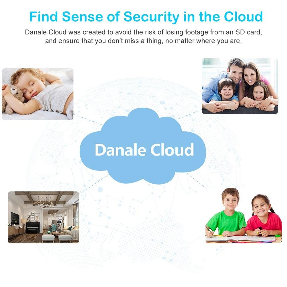 HD 1080P Indoor WiFi IP Camera Baby Monitor