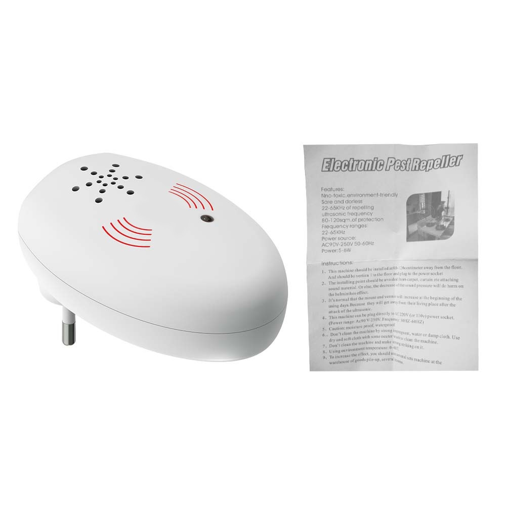 Electronic Mouse Bug Repellent Ultrasonic Pest Repeller
