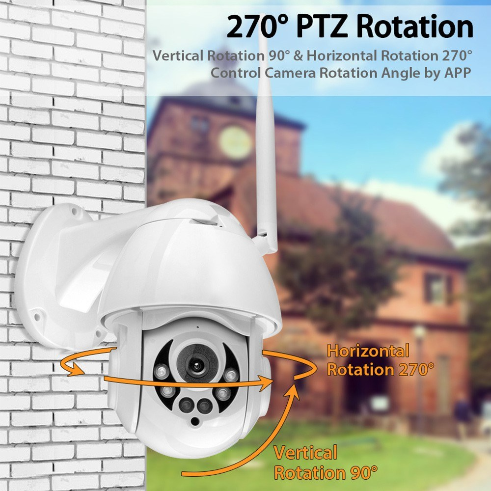K38D 1080P WiFi PTZ IP Camera