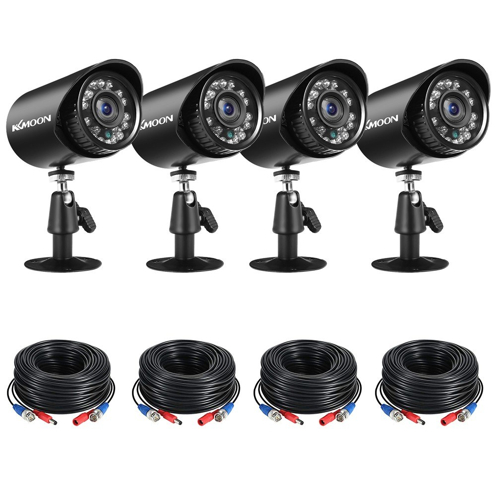 Tomtop - [EU Clearance Sale] 66% OFF 4pcs Full HD 1080P 2MP Security Analog Cameras, $45.99 (Inclusive of VAT)