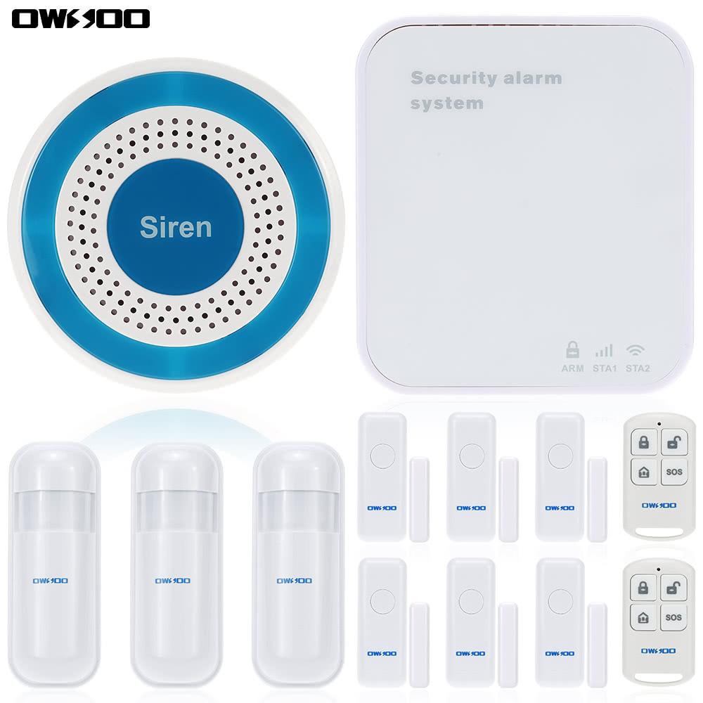 Migliore owsoo wifi wireless intelligente suono flash - Sistema allarme casa migliore ...