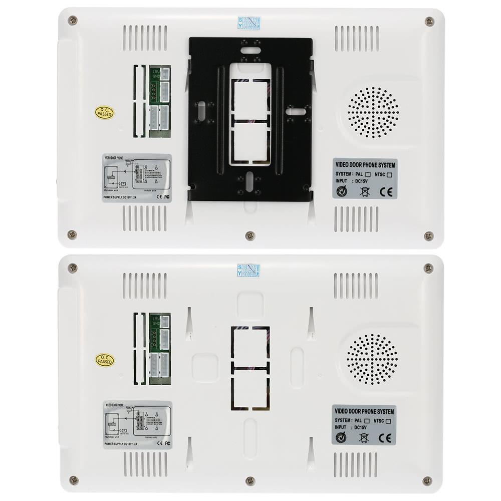 """KKmoon 7"""" Wired Video Door Phone System Visual Intercom Doorbell ..."""