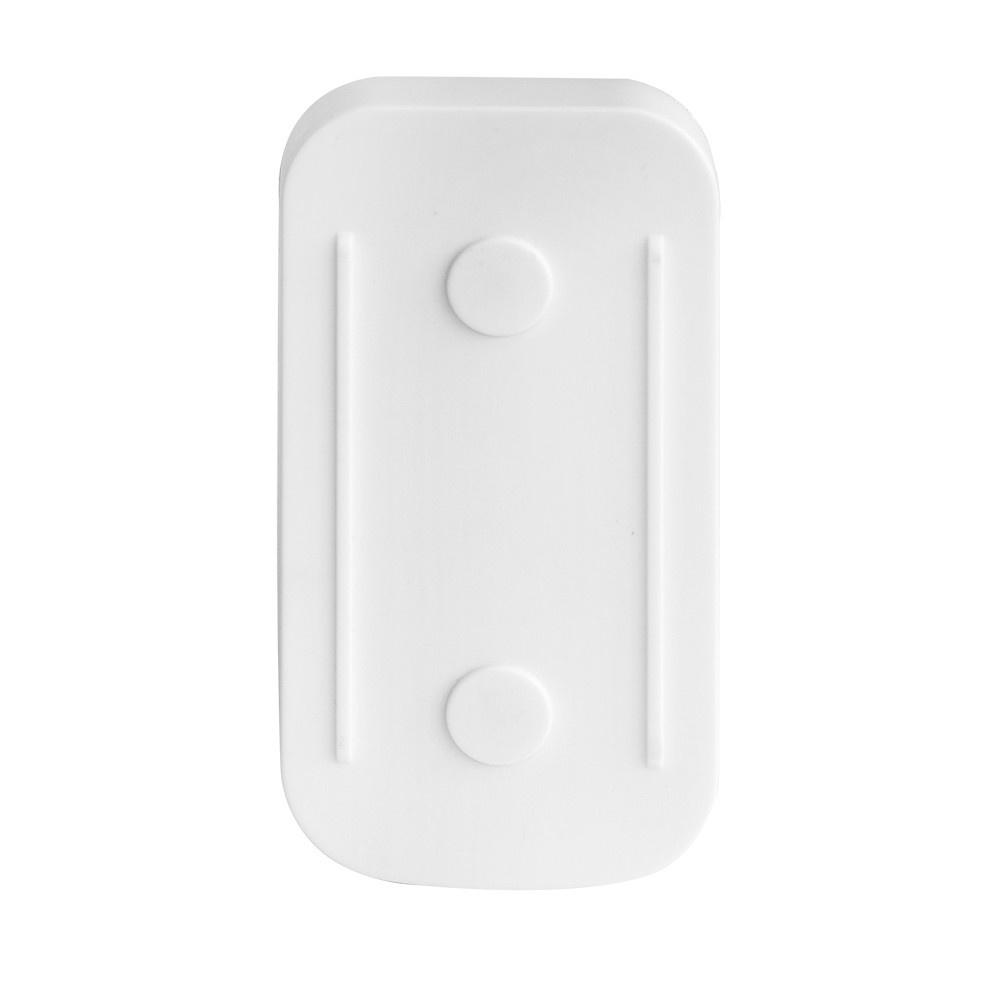 bouton poussoir ext rieur sans fil de cloche de porte de taille mini blanc. Black Bedroom Furniture Sets. Home Design Ideas