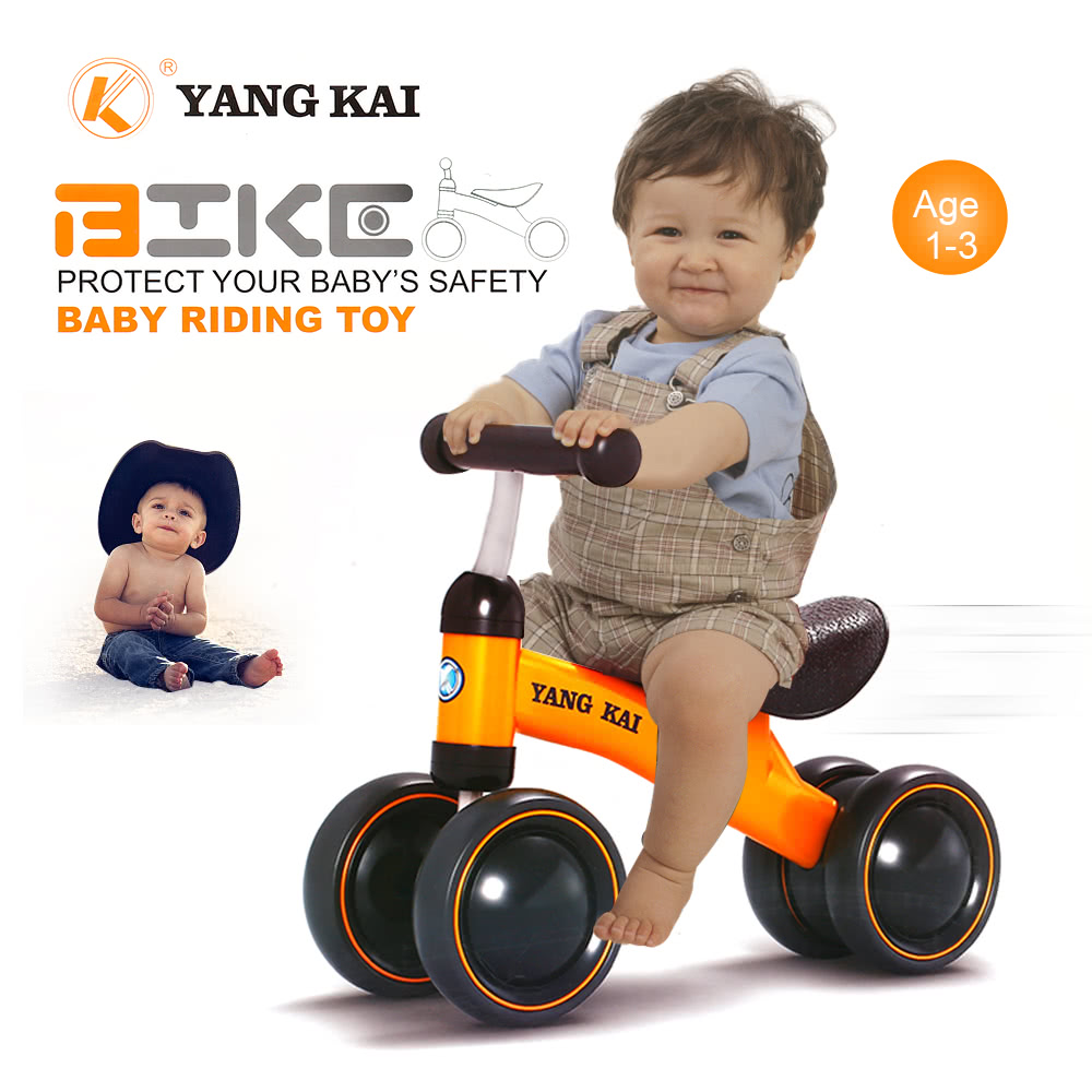 Baby Balance Bike Learn To Walk No Foot Pedal Riding Toy