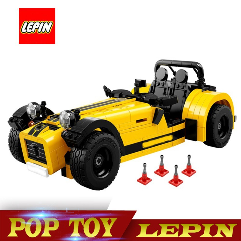 LEPIN 21008 Technic Series Caterham Seven 620R 771pcs Building Blocks Kit - Plastic Bag Packaged