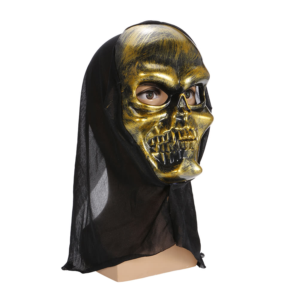 Halloween Costume Scary Skeleton Mask Ghost Clothes Festival Sales ...