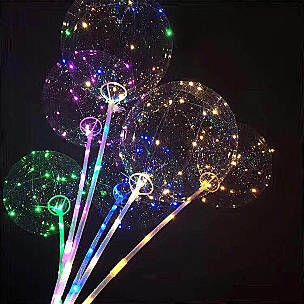 3 unids 18in led bobo globos luces para la fiesta de - Decoracion led hogar ...