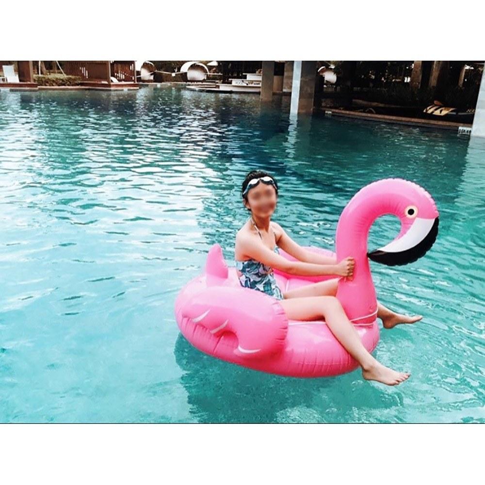 Mejor Inflables Flamingo Pool Raft Summer Swimming Lounge Flotador 2 ...