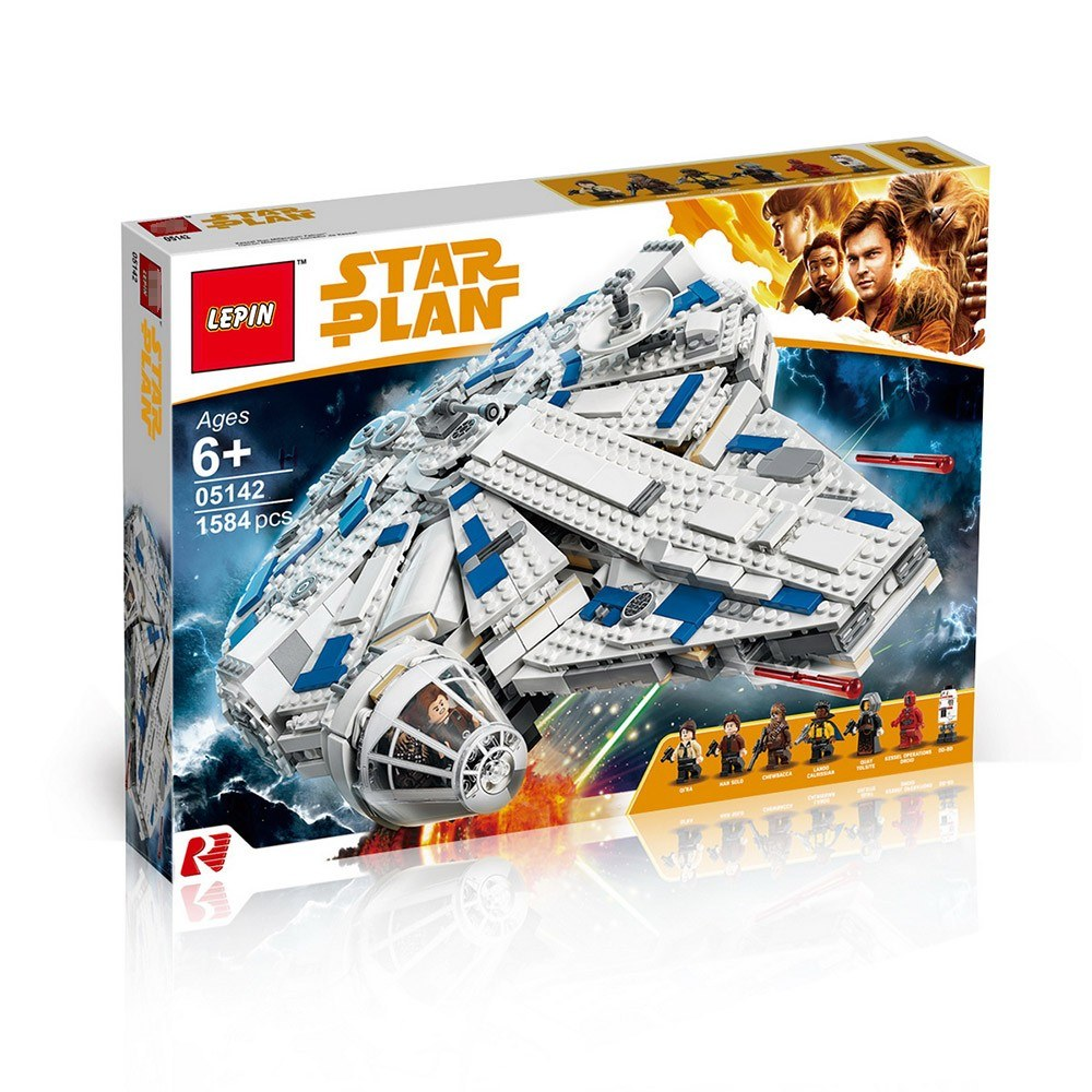 Star Wars 05142 Building Blocks Sets Kessel Run Millennium Falcon Model Kid Toys