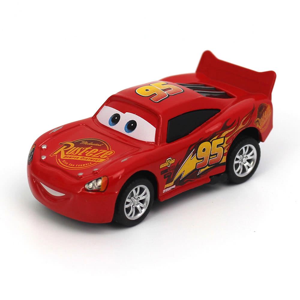 4 in 1 disney pixar cars lightning mcqueen die cast metal cartoon