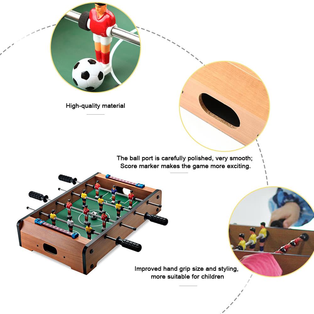 51 * 31 * 9 7cm HUANGGUAN TOYS HG235A Mini Foosball Table Soccer Football  Table Family Use Game Room