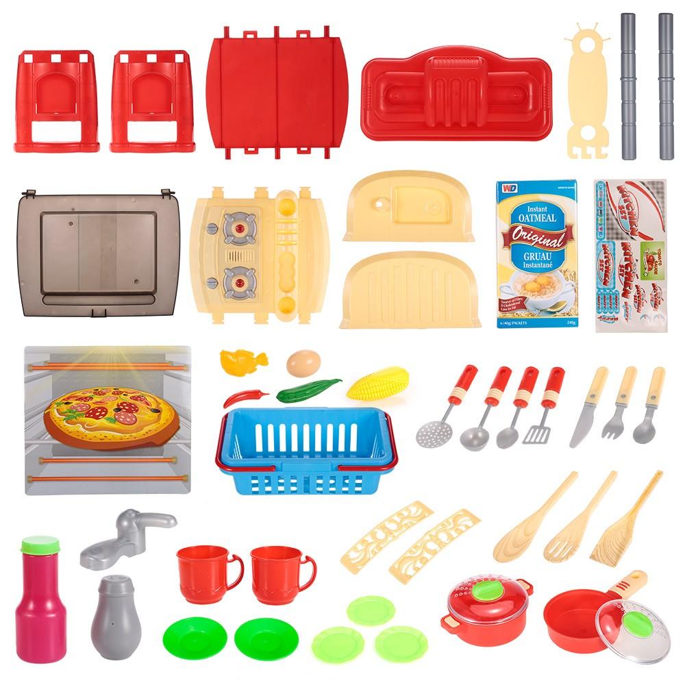 Beste Kinder Küche Spielzeug Set Spielhaus Geschirr Tisch Geschirr ...