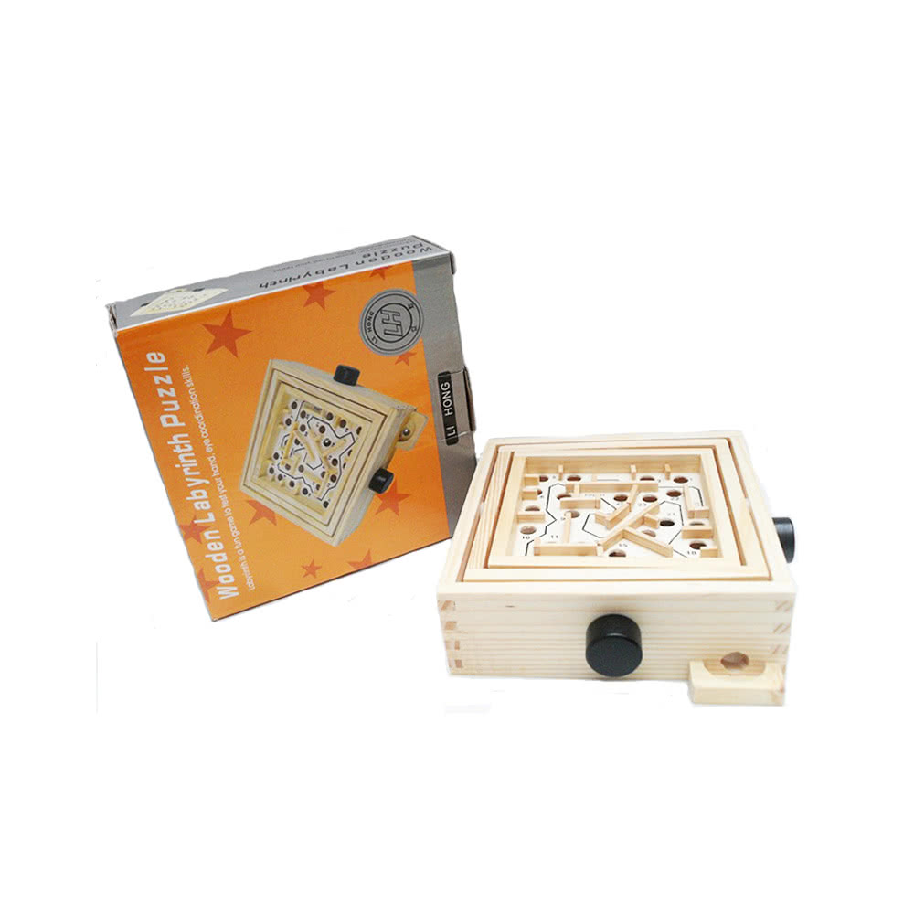 Balance Board Maze Game: Labyrinthe En Bois Puzzle Maze Game Labyrinthe En Bois