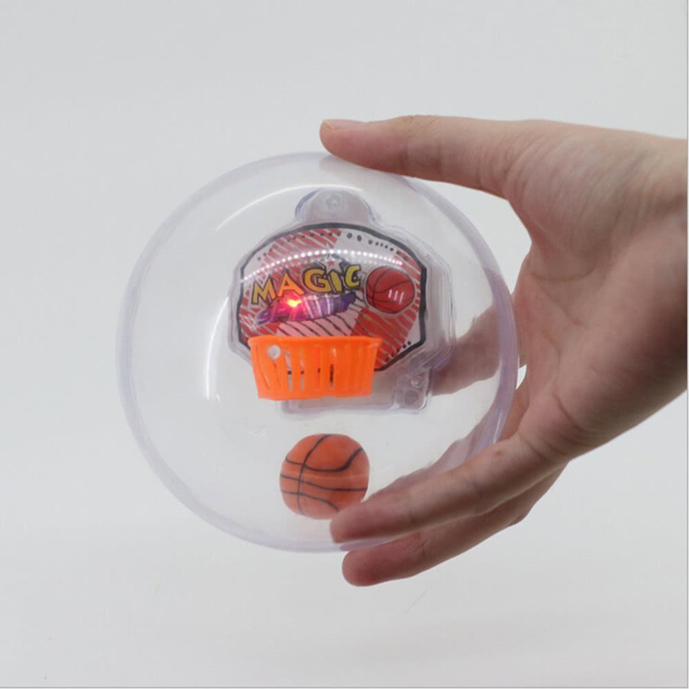 Basketball Toy Música Mini Flash Educativos Funny Shooting Machine Pocket Juguetes wO80kNXPn