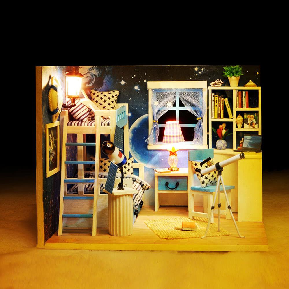 Mejor casa de bricolaje kit en miniatura casa de mu ecas - Bricolaje para casa ...