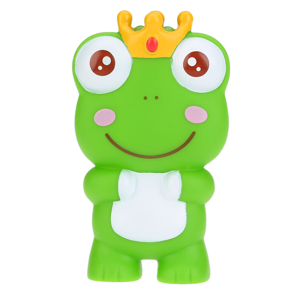 Cute Squeaky Toy Sounding Toy Cartoon Frog Animal Bath Toy Soft ...