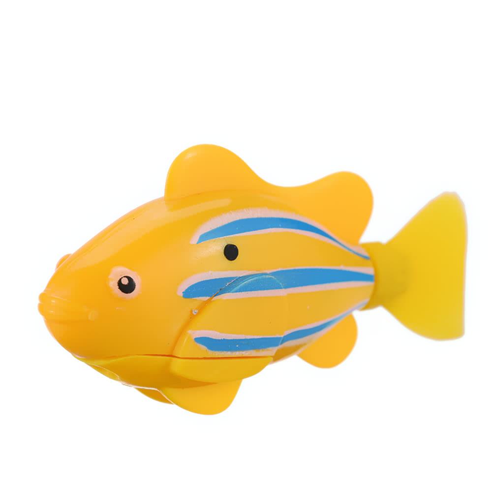 Flashy electronic fish pets robot swimming fish wonderful for 99 5 the fish