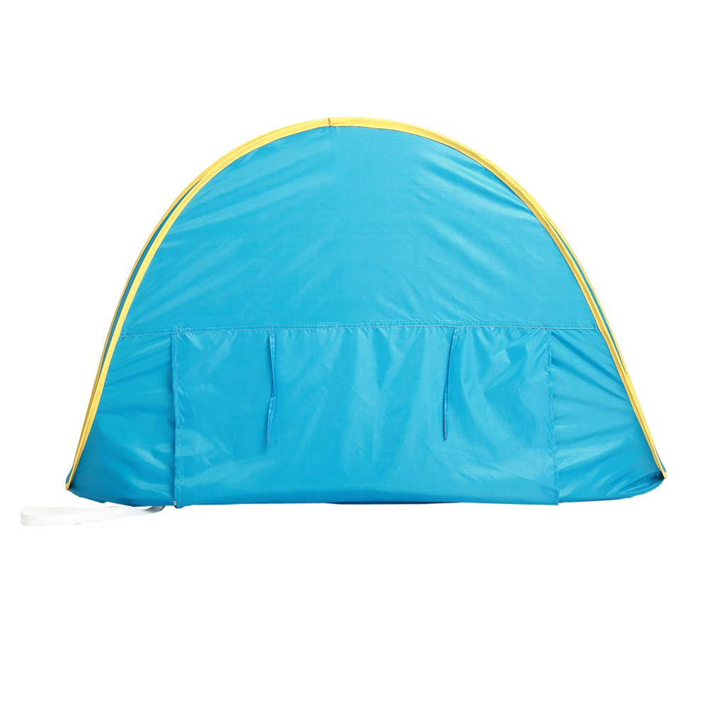 Children Waterproof Pop Up Awning Tent Baby Beach Uv Protecting Sunshelter With Pool Kids Outdoor Camping Sunshade House For Us 21 99