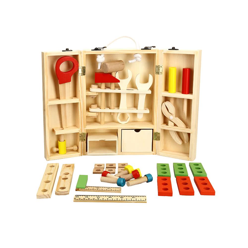Ensemble d'outils de charpentier en bois Ensemble d'outils en bois pour l'outil de fixation de  # Formation Charpentier Bois