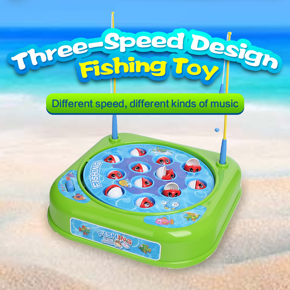 GOODWAY 8318 Fun Fishing Game Toys Early Educational Parent-child ...