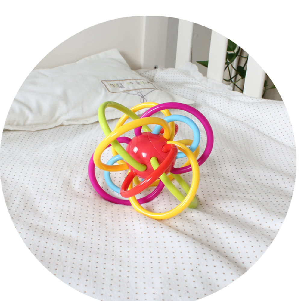 Goodway g baby rassel ball hand teether kunststoff