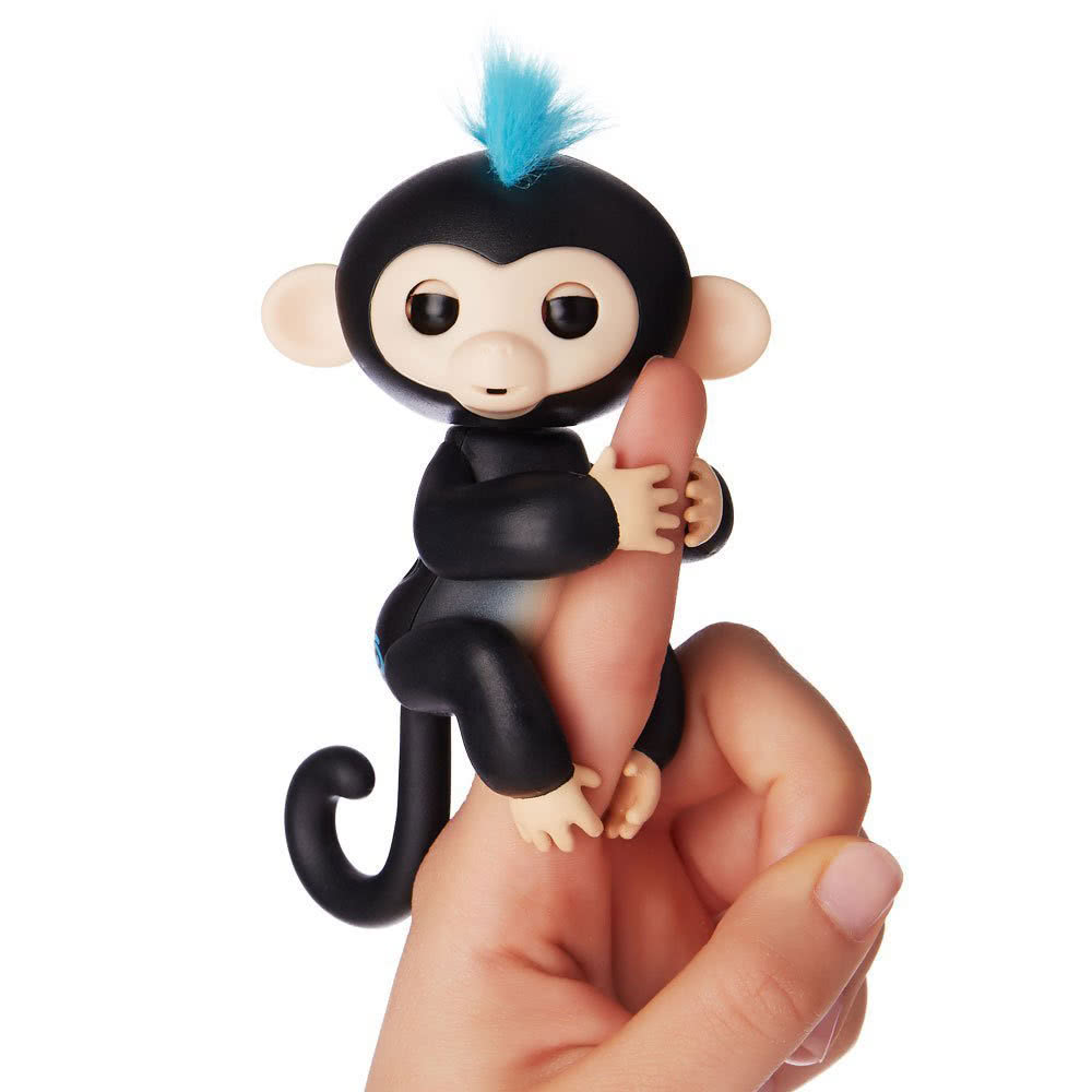Smart Baby Monkeys Colorful Finger Lings Electronic Pet Toys Best Gifts for Children Finger Toy