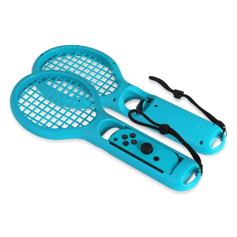 Twin Pack Tennis Racket For Mario Aces Joy Con Controllers Switch English Us Games Nintendo