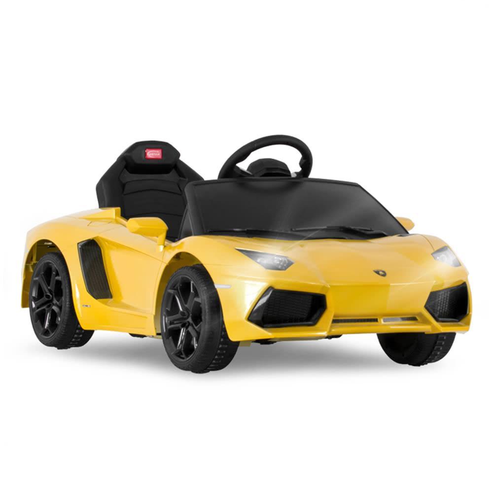 I Am A Rider Lamborghini Mp3 Download: Rastar Kids 6V Electric Ride On Toy Car Lamborghini