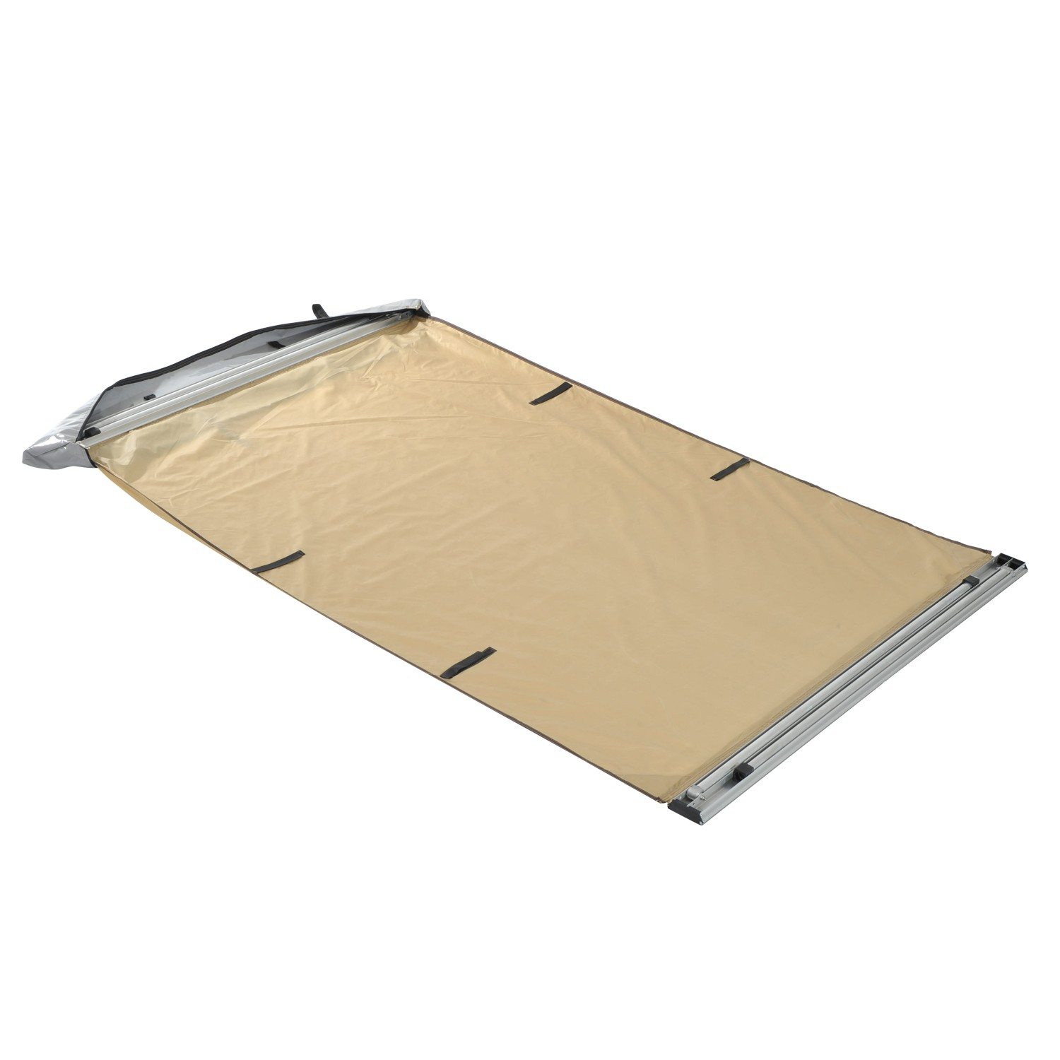 Car Awning - Portable Folding Retractable Rooftop Sun Shade Shelter (Small)  Sales Online brown - Tomtop