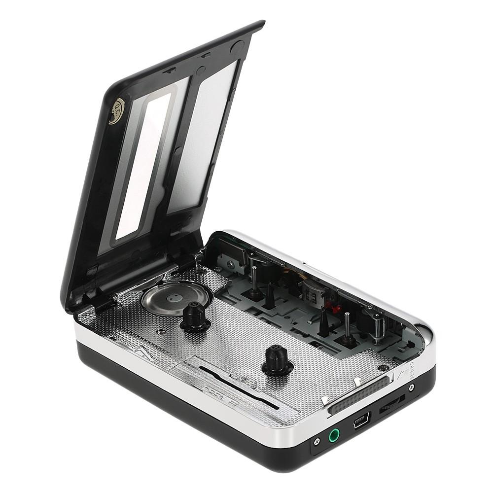 ezcap USB Cassette Capture Tape-to-MP3 Converter with Earphone