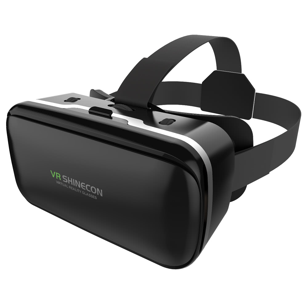 VR SHINECON G-04 Virtual Reality Glasses 3D Box Headset Android iOS Windows Smart Phones 3.5-6.0 Inches