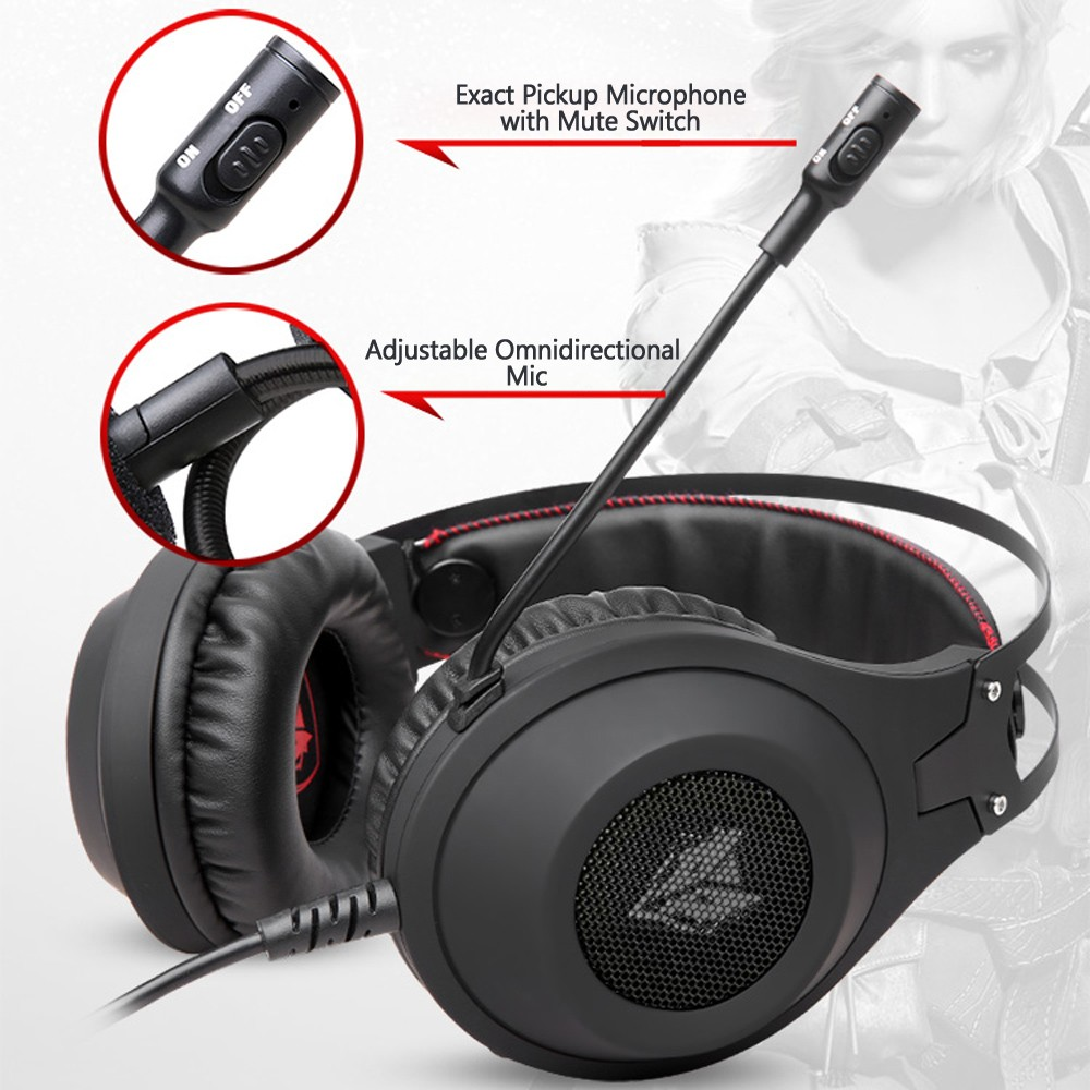 caf9fa09df5 1 * NUBWO N2 Gaming Headset 1 * 3.5mm Headphone/Mic Splitter Cable for PC 1  * Multi-language User Manual