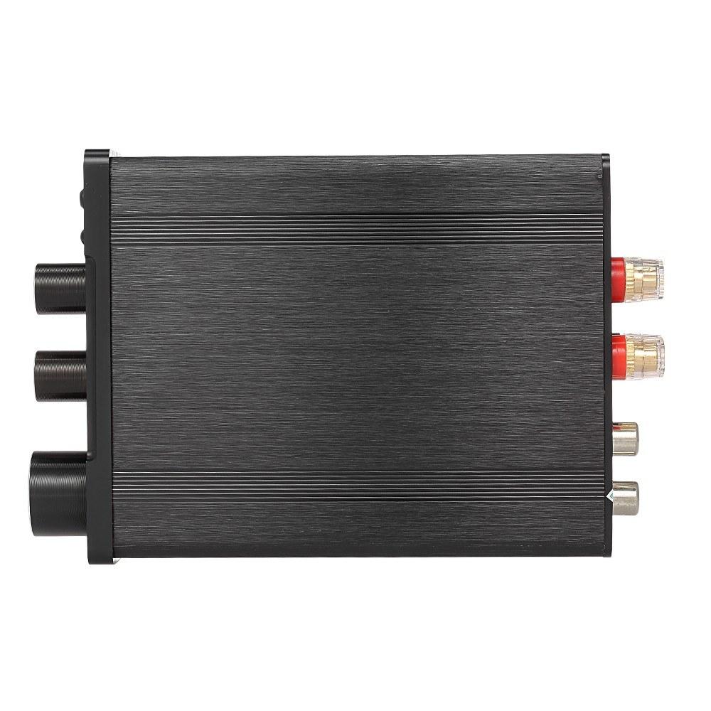 30W+30W HiFi Audio Digital Amplifier Bluetooth 4.2 Power Amplifier Stereo Amp Treble Bass Adjustment  Support U Disk AUX Input 2.0 Channel Speakers
