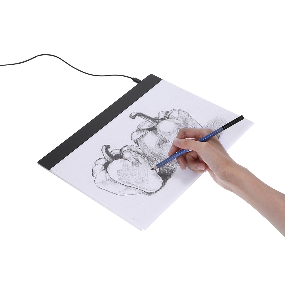 Tomtop - 43% OFF LED Graphic Tablet Writing Painting Light Box Tracing Board, Free Shipping $16.99