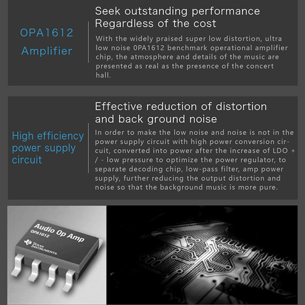 Xduoo X20 Hifi Lossless High Fidelity Digital Audio Music Player Low Noise Power Supply For Circuits Black