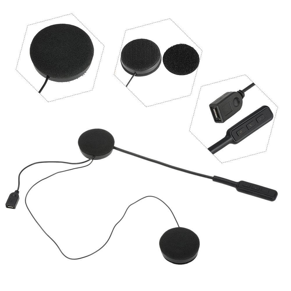 Motorcycle Motorbike Helmet Bluetooth Headsets