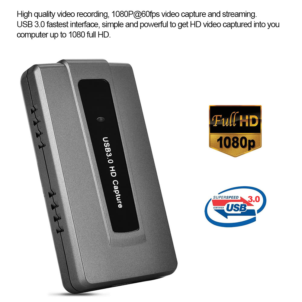 ezcap287 USB 3 0 HD Game Capture Live Streaming Record