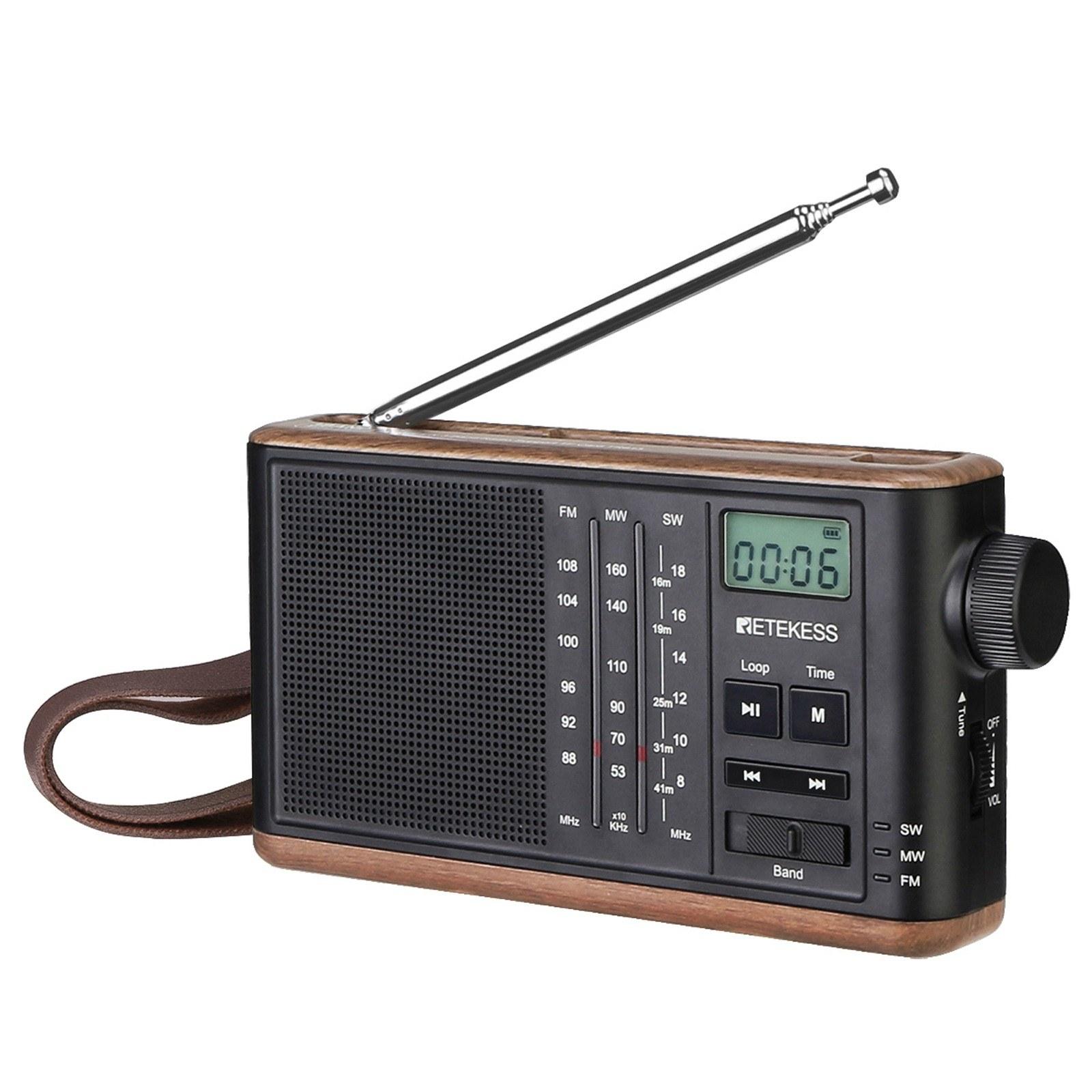 tomtop.com - 36% OFF Retekess TR613 FM/AM/SW Radio Multiband Radio Receiver, Limited Offers $33.99