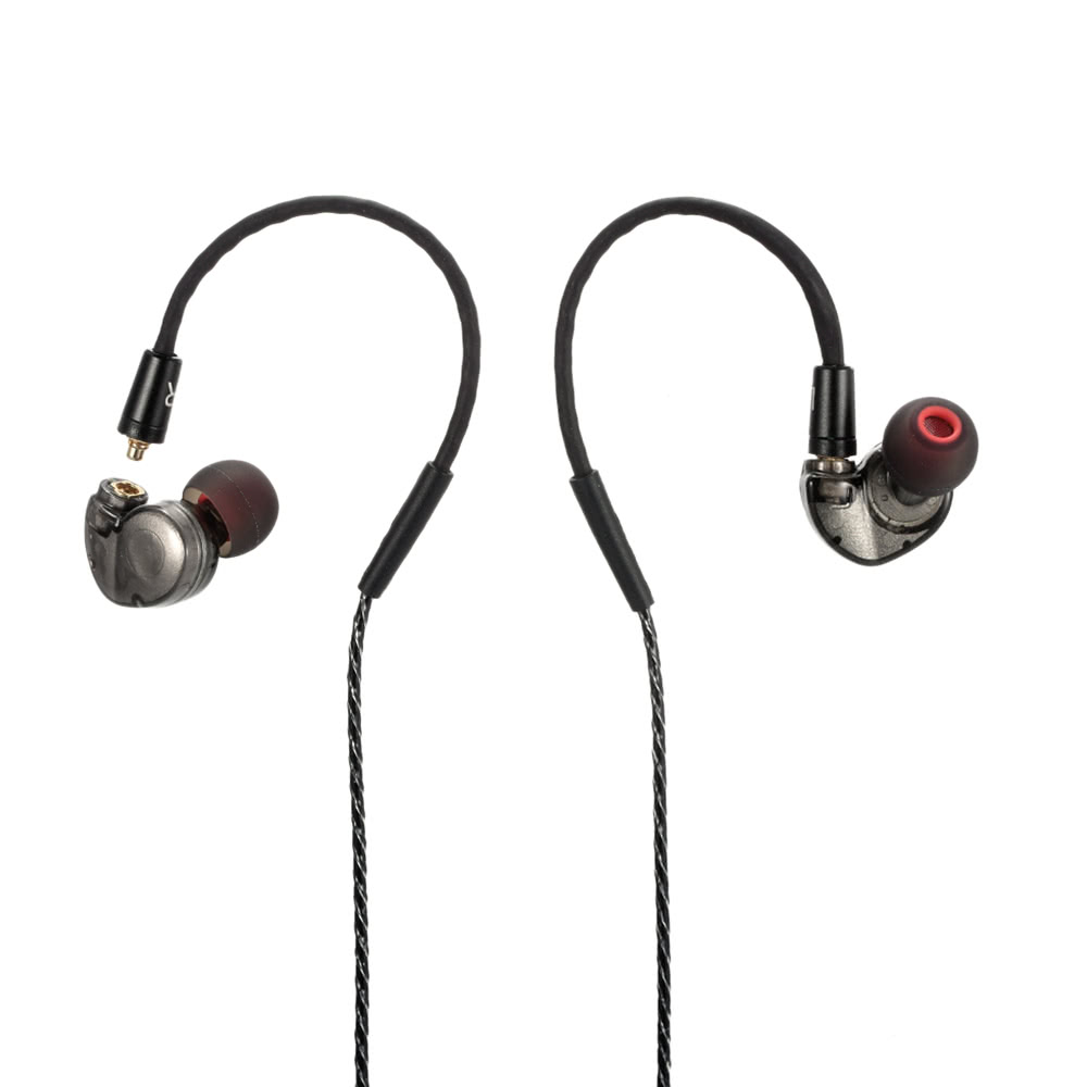 In-ear earphones stereo headsets headphones - detachable earphones replacement cable