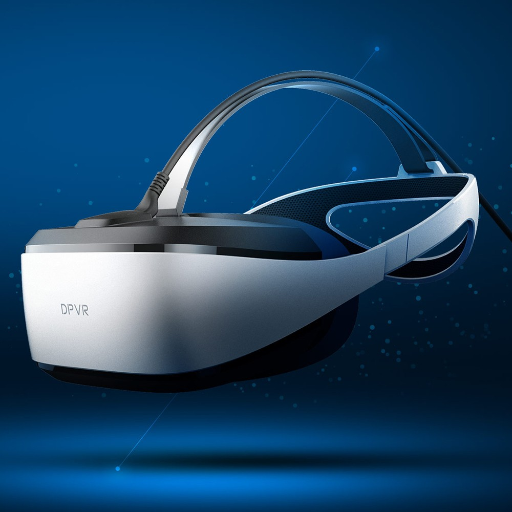 DeePoon E3-C 3D VR Headset Immersive Virtual Reality Glasses