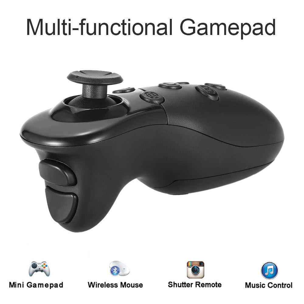 VR KEYSCO Multi-functional BT Remote Controller Wireless BT 3 0 VR Gamepad  Selfie Camera Shutter Wireless Mouse for VR Glasses Box Smart Phones