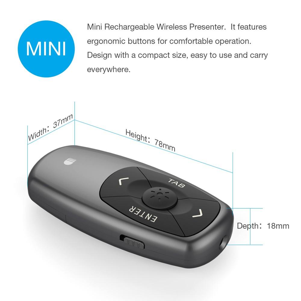 Doosl Dsit011 Wireless Laser Presenter Pointer Sales Online Tomtop Presentasi 1 Usb Receiver Charging Cable English User Manual