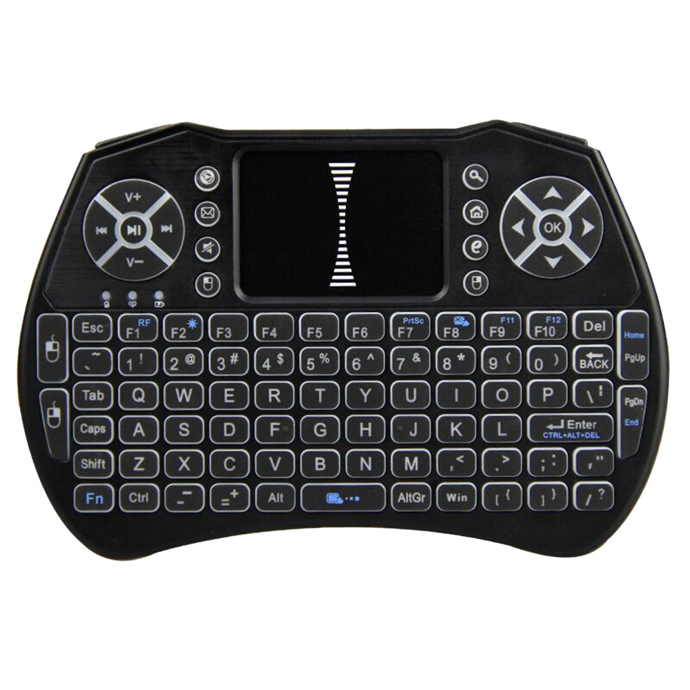 97687a123c5 Backlit 2.4GHz Wireless Keyboard Air Mouse Touchpad Handheld Remote Control Sales  Online - Tomtop
