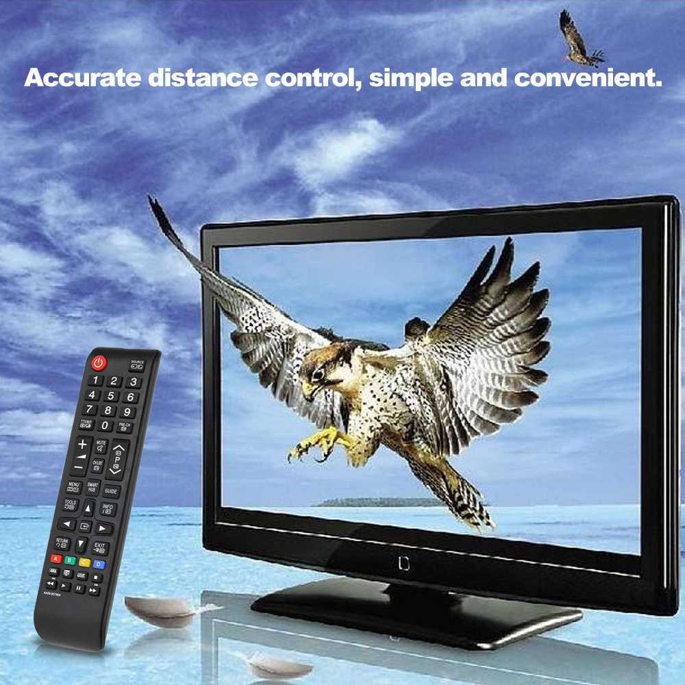 Universal TV Remote Control Wireless Smart Controller Replacement for  Samsung HDTV LED Smart Digital TV Black
