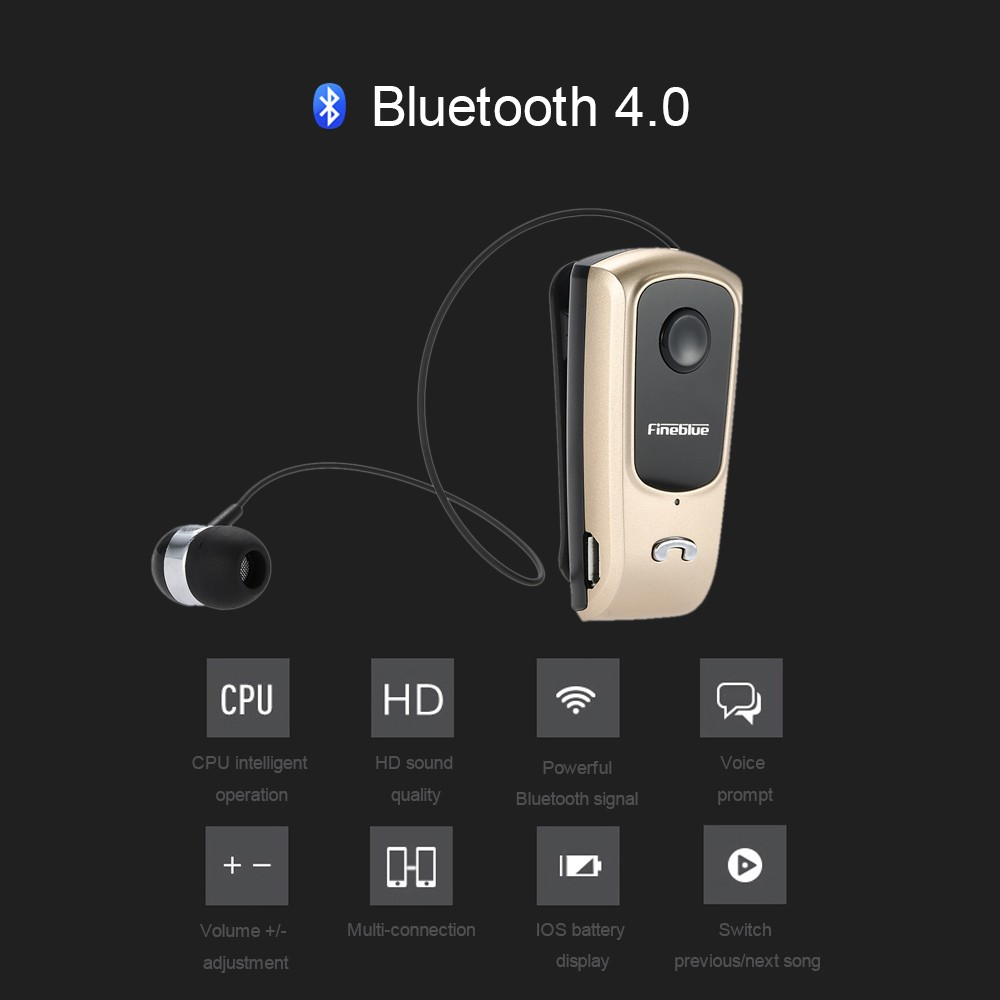 fineblue f920 bluetooth stereo headset bluetooth 4 0 hands free earphone vibrating alert multi. Black Bedroom Furniture Sets. Home Design Ideas