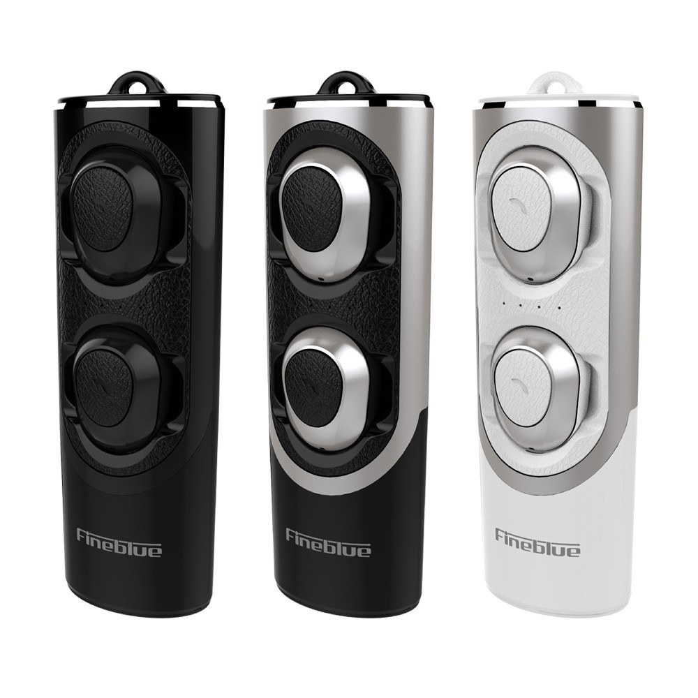 Fineblue Rws X8 Tws Vrai Casque Sans Fil Bluetooth Noir Tomtopcom
